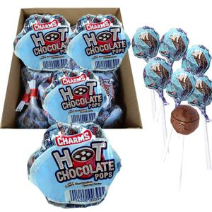 Hot Chocolate Lollipops 18 Bundles of 7 - Charms