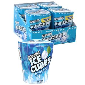 Ice Breaker SF Gum Cubes Peppermint 4 Pack