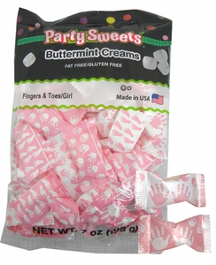 It's A Girl Butter Mints 56 Count