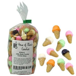 Jelly Belly Candy Ice Cream Cones 20oz Bag