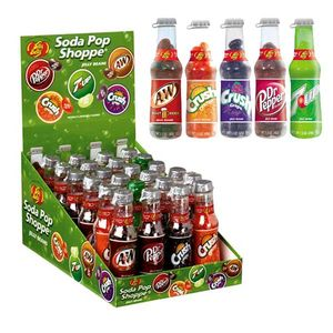 Jelly Belly Soda Pop Bottles 24 Count