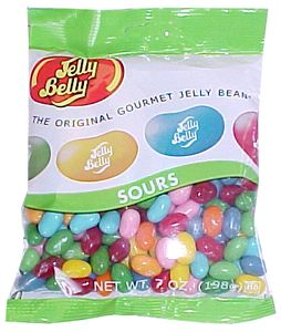Jelly Belly Sour Flavors Jelly Beans 7oz Bag