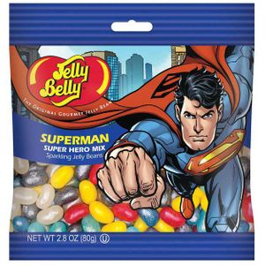 Jelly Belly Superman Jelly beans 2.8oz Bag