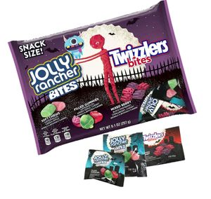 Jolly Rancher Bites Twizzler Bites Halloween Mix 9.1oz Bag