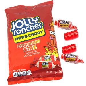 Jolly Rancher Peg Bag - Cinnamon Fire