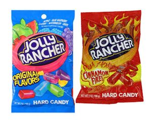 Jolly Rancher  Bags - Original or Cinnamon Fire