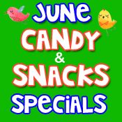 June Candy & Snack Specials