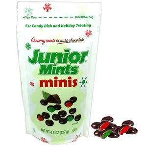 Junior Mints Mini's Christmas 4.5oz Bag