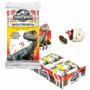 Jurassic World Chocolate Dinosaur Eggs 24 Count