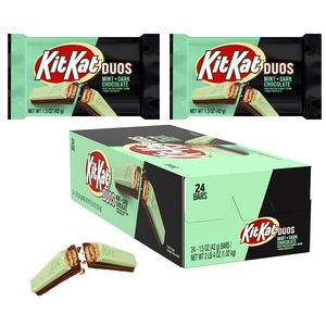 Kit Kat Duo Mint Dark Chocolate Bars 24 Count