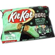 Kit Kat Duos Mint Dark Chocolate Snack Size Bars