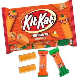 Kit Kat Pumpkin Pie Candy Bars 9.7oz Bag