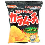 Koikeya Karamucho Chips Hot Chili 1.9oz