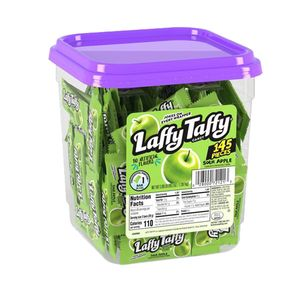 Laffy Taffy Chews 145ct - Apple