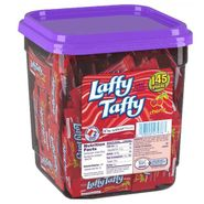 Laffy Taffy Chews Cherry 145 Count