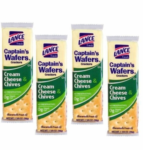 Lance Crackers Cream Cheese & Chives 20 Count