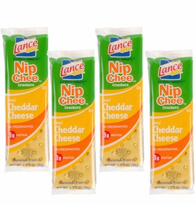 Lance Nip Cheese Crackers 20 Count