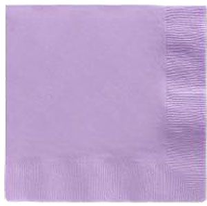 Lavender Lunch Napkins 50 Count