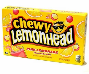 Lemon heads Chewy Pink Lemonade 5oz Box
