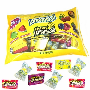 Lemonhead Mini Variety Packs 35 Count