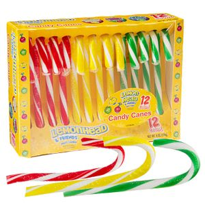 Lemonheads & Friends Assorted Candy Canes 12 Count