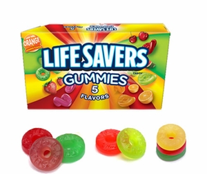 Life Savers Gummies 5 Flavor 3.5oz