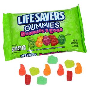 Life Saver Gummy Bunny/Eggs 9oz