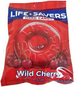 Life Savers Singles 6.25oz Bag Cherry