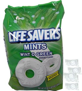 Lifesaver's Wintogreen Bulk Singles (308 Count)