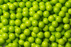 Lime Green Mini Chocolate Balls 2lb Bag Sixlets