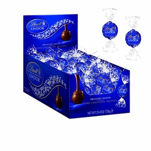 Lindt Lindor Truffles Dark Chocolate 60 Count