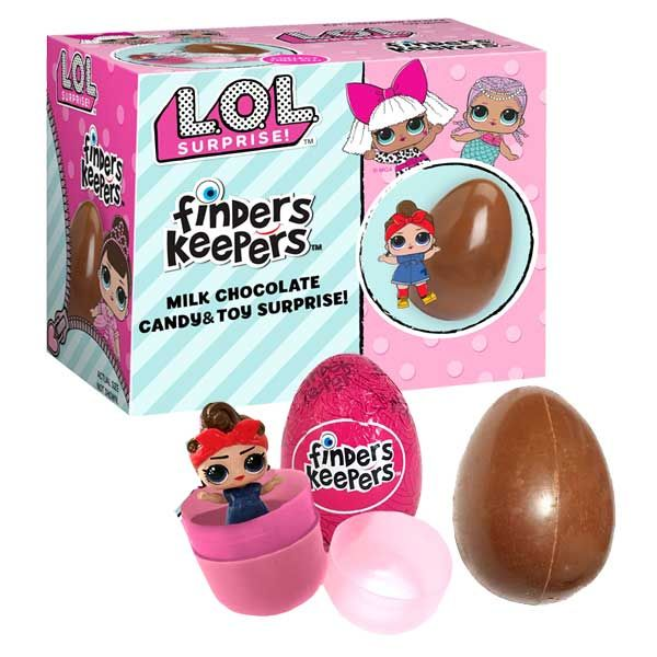 Lol Doll Chocolate Egg Finders Keepers Easter Candy Blaircandy Com