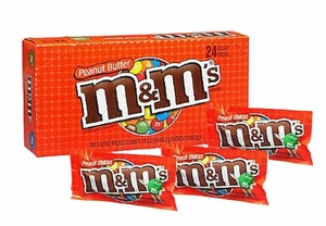 M&M Peanut Butter 24 Count