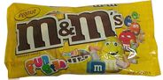 M&M Peanut Snack Size Candy 11.23oz Bag (18ct)