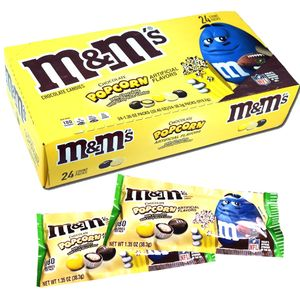 M&M's Chocolate Popcorn 24 Count