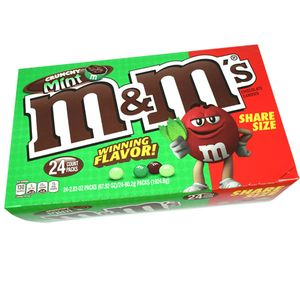 M&M's Crunchy Mint 24 Count Share Size