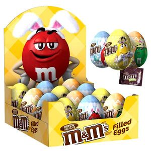 M&M's Pastel Filled Eggs 12 Count