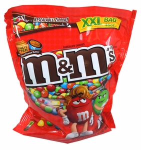 M&M's Peanut Butter XXL Bag 50oz