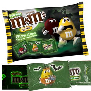 M&M's Peanut Glow In Dark Fun Size 17oz Bag