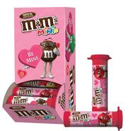M&M's Valentine's Day Mini Tubes 24 Count