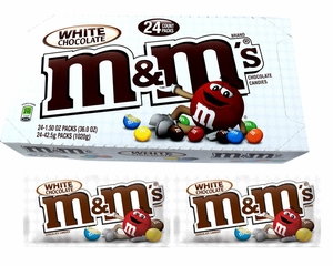 M&M's White Chocolate 24 Count