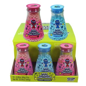 Mad Science Mini Chews Candy 12 Count