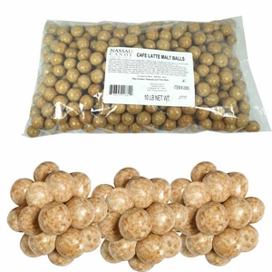 Malted Milk Balls Cafe Latte 10lb