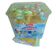 Marpo Marshmallow Ice Cream Cones 30ct Tub