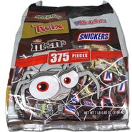Mars Chocolate Variety Spider Bag 375 Count