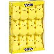 Marshmallow Peeps Bunnies 12ct - Yellow
