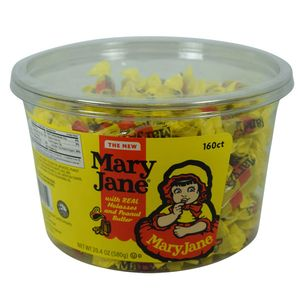 Mary Jane Candies 160 Count Tub