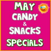 May Candy & Snack Specials