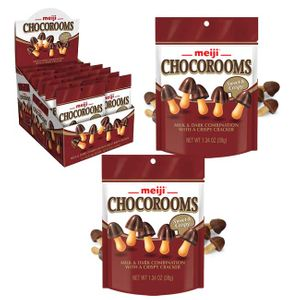 Meiji Chocorooms Candies 8 Count