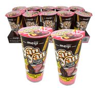 Meiji Double Cream Dips Strawberry Chocolate 10 Count